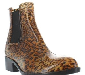 Jeffrey Campbell Cheetah Rain Boots